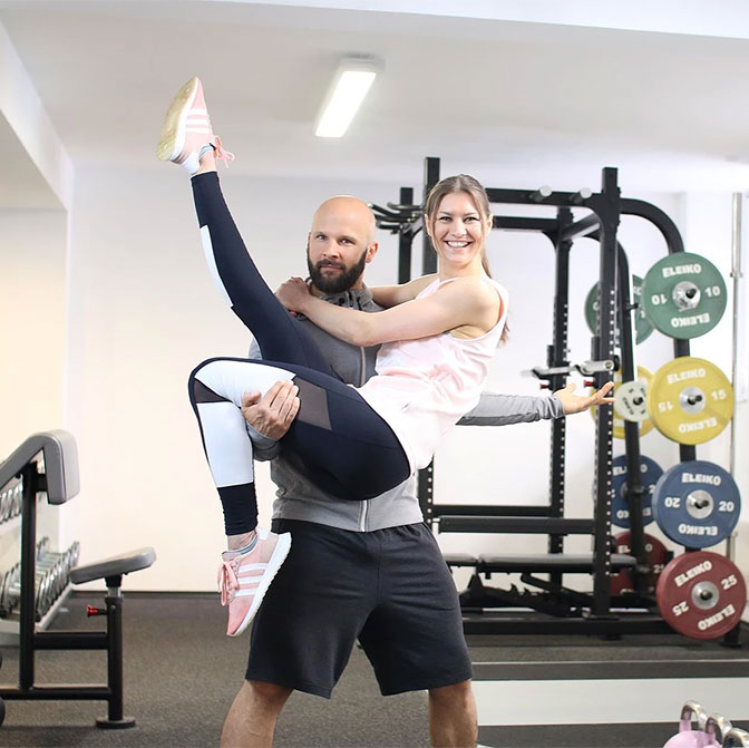 Daniel und Julia Striffler