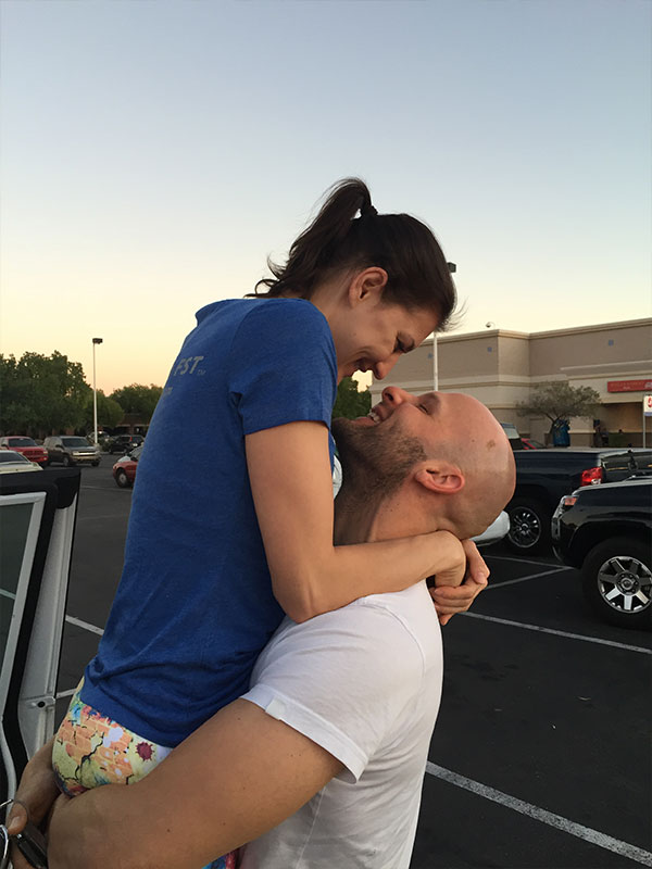 Julia und Daniel Striffler