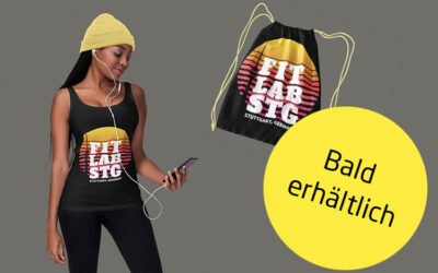 Fitlab Shirts und Gym-Bags mit Stuttgart Motiv